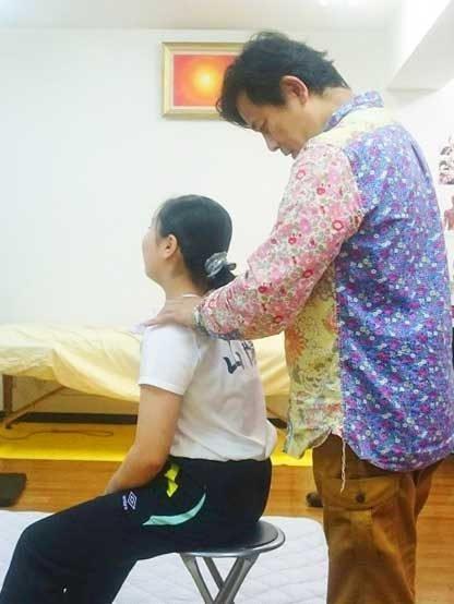 広島で体操選手・アスリートのメンテナンス-肩と首の痛み