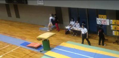 腱引きで体操選手のメンテナンス3