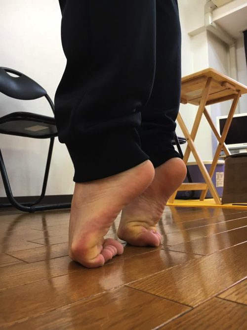 広島で体操選手・アスリートのメンテナンス-足の親指の痛みを治す
