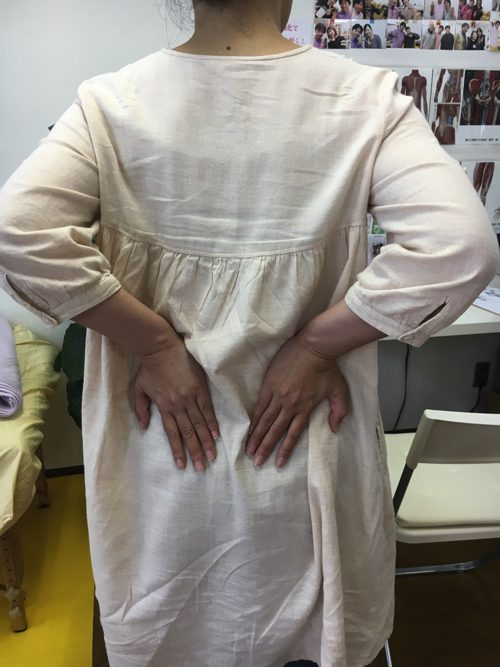 広島「ぎっくり腰」の治療で有名な整体院の治った例0926-1-1