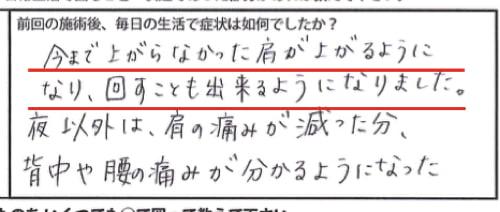 四十肩の原因と治療方法-広島で四十肩を治す専門技術の整体院