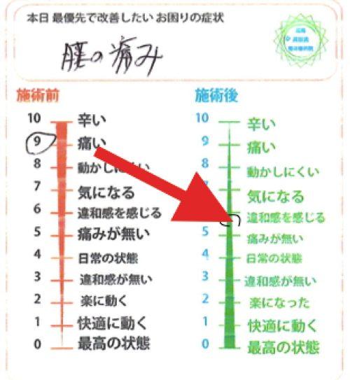 広島で椎間板ヘルニアの治療で有名な整体院の記録-腰の痛みが消えて治った例8